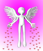 The Angel Of Love — Stock Photo