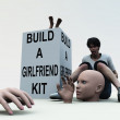 Build A Girlfriend — Stock Photo #18393303