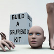 Build A Girlfriend — Stock Photo