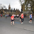 Stock Photo: Runners At London Marathon 22th April 2012