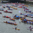 The Diamond Jubilee Pageant To Mark The Queens Diamond Jubilee 3 — Stock Photo
