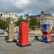 BT Artboxes In Londons Trafalgar Square 19th June 2012 — Stock Photo #18399023