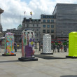 BT Artboxes In Londons Trafalgar Square 19th June 2012 — Stock Photo #18399027
