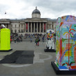 BT Artboxes In Londons Trafalgar Square 19th June 2012 — Stock fotografie