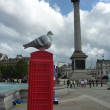 BT Artboxes In Londons Trafalgar Square 19th June 2012 — Stock Photo #18399081