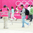 Attending The Olympic Closing Ceremony — Stock Photo