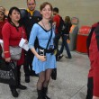 Stock Photo: Costumed at destination Star Trek in London Docklands October 20th