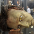 Datas head at destination Star Trek in London Docklands October 20th - Stock Photo