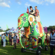 Elephant at London MegMelfestival in Gunnersbury Park West London August 19th — Stock Photo #23286364