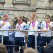 Our greatest team parade in Central London 10th September 2012 — Stock Photo #23287254