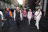 Celebrate World Zombie Day London 2012 — Stock Photo