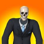 Skeleton Businessman — Stock Photo #2564362