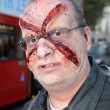 Stock Photo: Attending World Zombie Day 2012 In Central London October 13th