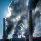 Environmental pollution — Stock Photo