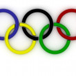 Olympic Rings — Stock Photo #17007815