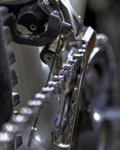 Front derailleur — Stock Photo