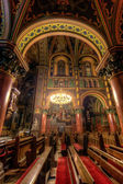 All'interno di una cattedrale cattolica — Foto Stock
