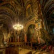 Inside a catholic cathedral III — Stockfoto