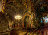 Inside a catholic cathedral III — Stock Photo