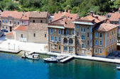 Little port at the Adria — Stockfoto