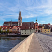 Regensburg Salzstadel — Stock Photo