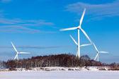 Energieversorgung ズール winterzeit — ストック写真
