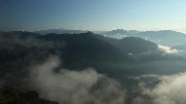Moutains of Cordillera — Stock Video