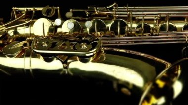 Saxophone — Stock Video