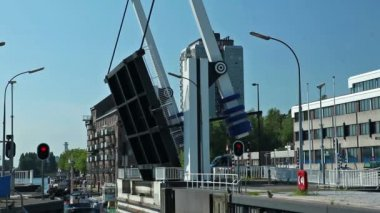 Bridge in Holland 1 — Video Stock