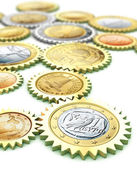 Europen Currency Dependace — Stock Photo