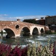 View to the river in Verona — Stock Photo