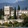 Villa at the lake Garda — Stock Photo