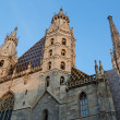 Stephansdom church in Vienna — Stock Photo