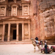 Petra Treasury — Foto Stock
