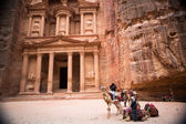 Petra-treasury — Stockfoto
