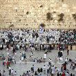 Wailing Wall in Jerusalem — Stock Photo