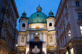 St.Peter's church in Vienna — Stock Photo