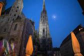 Stephansdom church in Vienna — Stock Photo