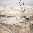 View to the Dead sea from Masada — Stock Photo