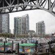 Vancouver water front — Stock Photo