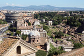 Panoramic view of Rome — Stock Photo