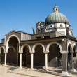 Mount of Beatitudes chapel — Foto Stock #35925929