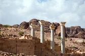 Blue Chapel Complex in Petra — Stock Photo