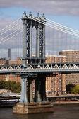 Manhattan bridge in New York — ストック写真