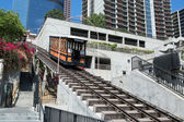 Angels Flight in Los Angeles downtown — Stock Photo