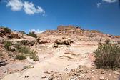 Petra landscape — Stock Photo