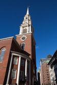 Boston church — Stock Photo