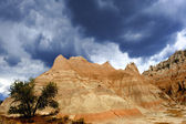 Badlands (south dakota — Stockfoto