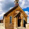 Church in Bodie State Historic Park, California - Stock Photo