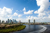 Downtown tampa florida — Foto Stock